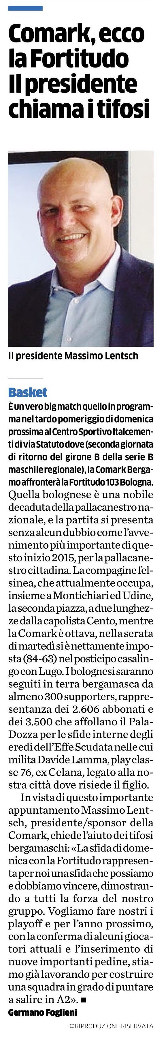 Eco di Bergamo 15012015